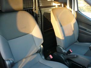 Nissan NV200 fotele