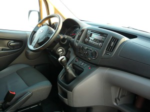 Nissan NV200 kabina